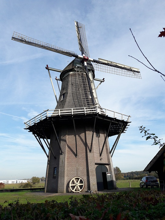 Mill, Wicks, Craft, Monument, Symbol, During A Stay