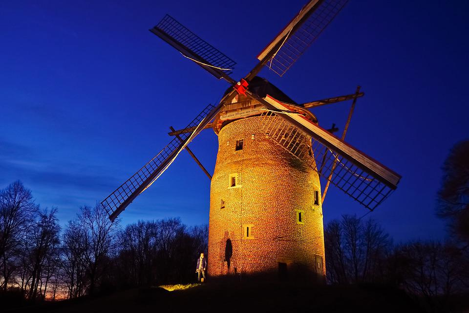 Mill, Tower Windmill, Windmill, Historically