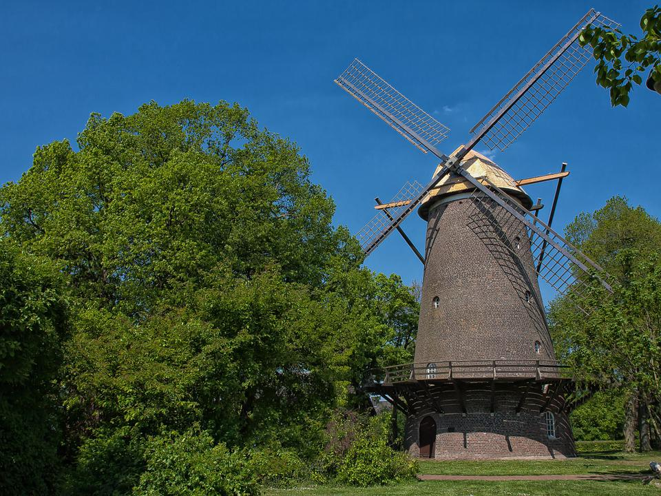 Windmill, Building, Historically, Mill, Wing