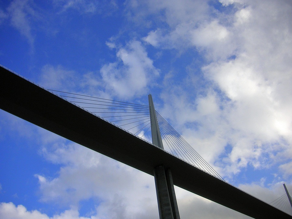 Millau Bridge, Span, Bridge, Engineering, Construction