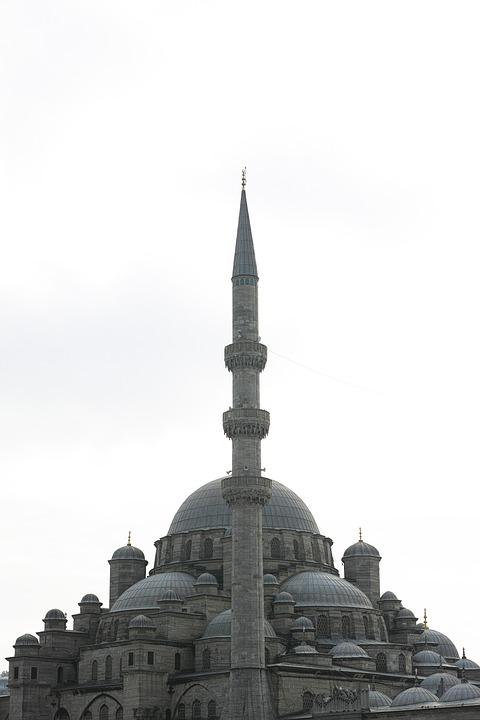 Cami, Minaret, Dome, Istanbul, Turkey, Architecture