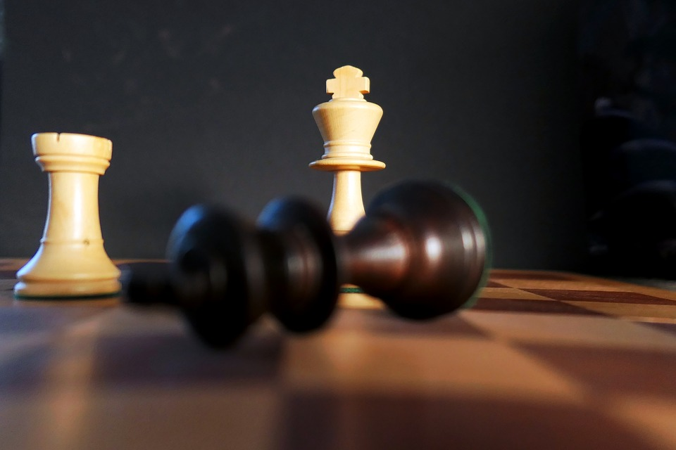 Chess, Denksport, Mind Game, Game Board, Chess Board