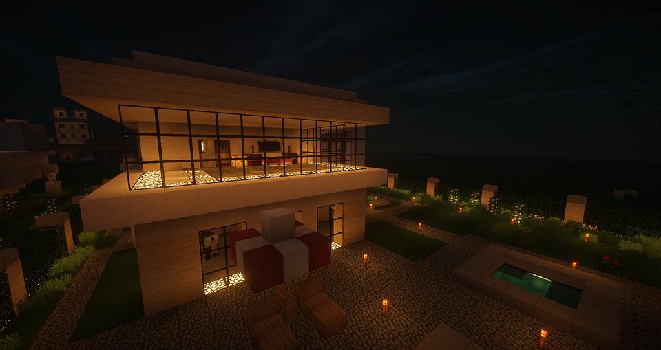 Minecraft, Architecture, Modern Architecture