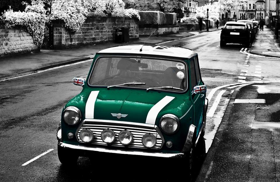 Free Photo Mini Austin British Racing Green Rover Cooper Max Pixel