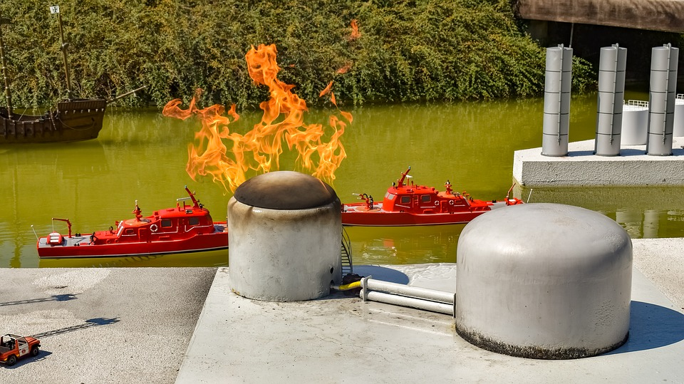 Mini Europe, Miniature Park, Fire, Firefighting