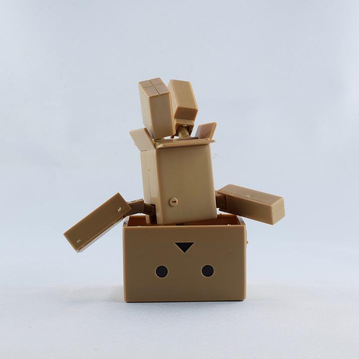 Kartobot, Mini Yotsuba, Deco, Toys, Yotsubato