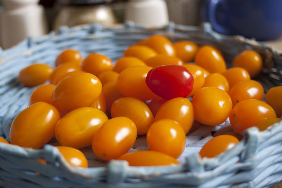 Fruit, Vegetable, Mini-tomatoes, Small Tomatoes, Tomato