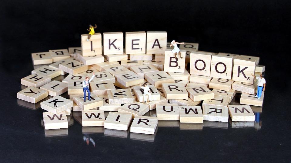 Book, Kit, Miniature Figures, Ikea, Letters, Puzzle