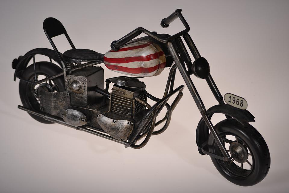 Motorcycle, Miniature, Toy