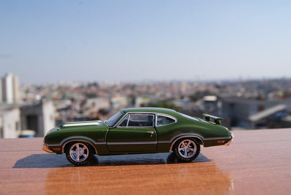 Car, Toy, Scale, Miniature, Oldsmobile, 442, M2