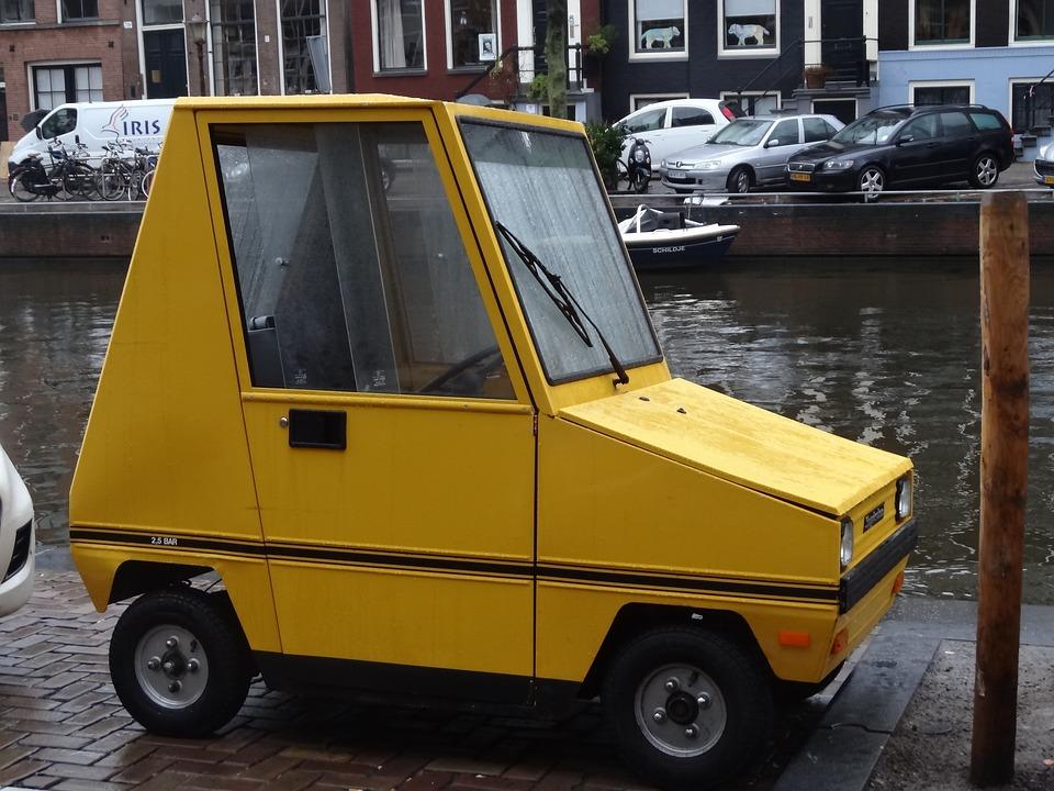 Car, Tiny Car, Vehicle, Small, Miniature, Motoring