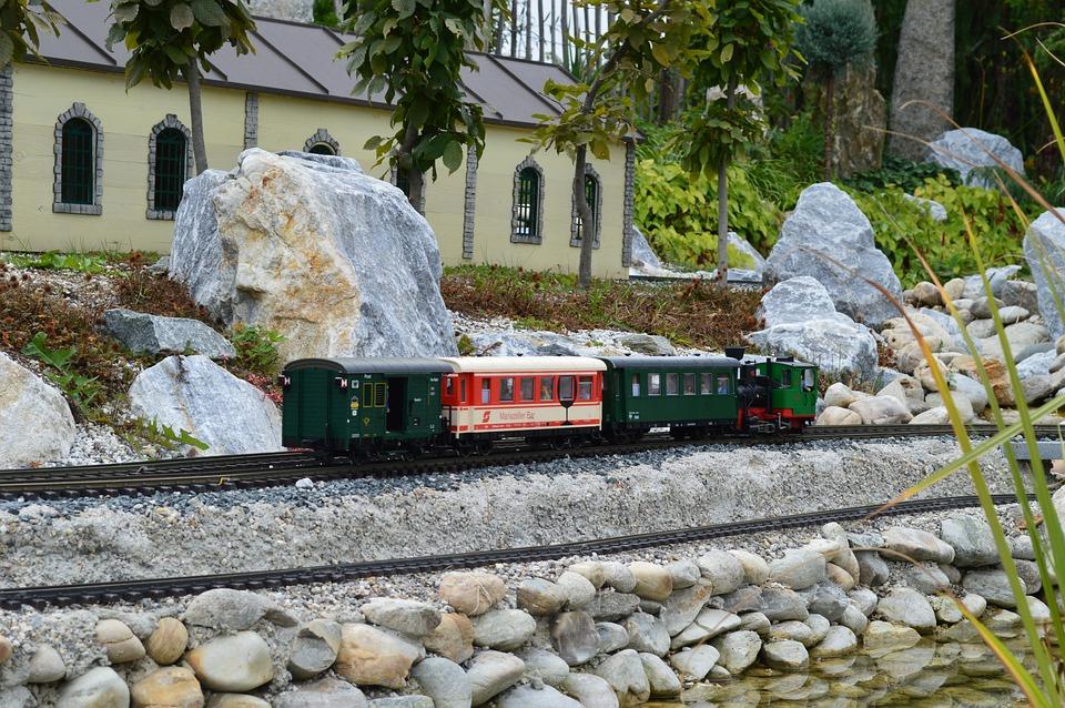 Train, Railway, Miniature, Railway Station, Transport