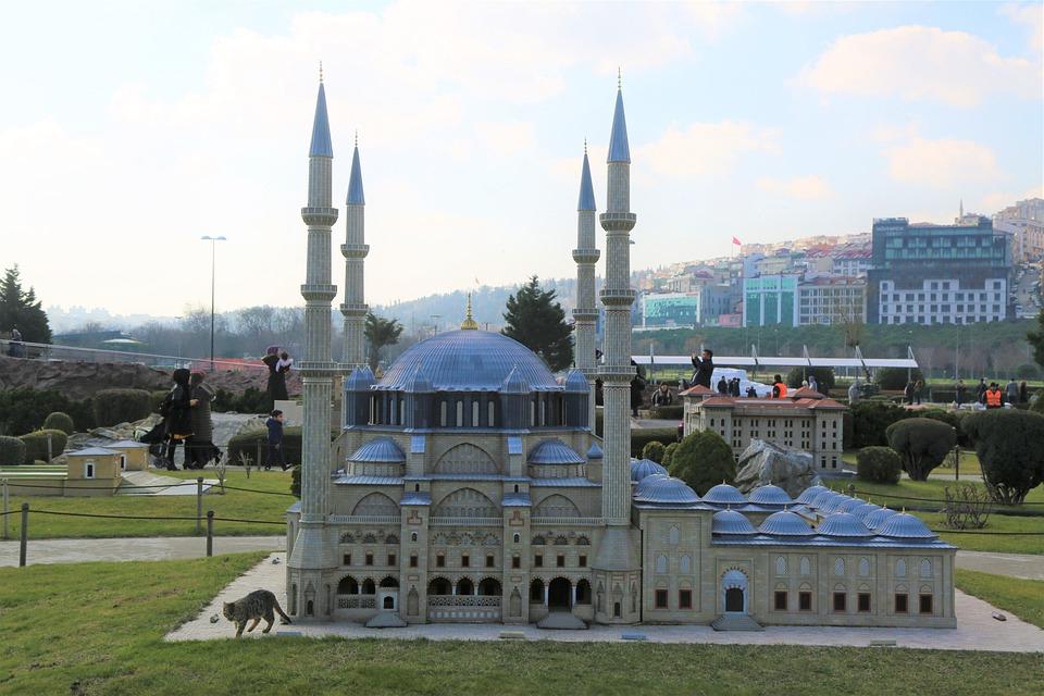 Cami, The Minarets, Istanbul, Maquette, Miniaturk