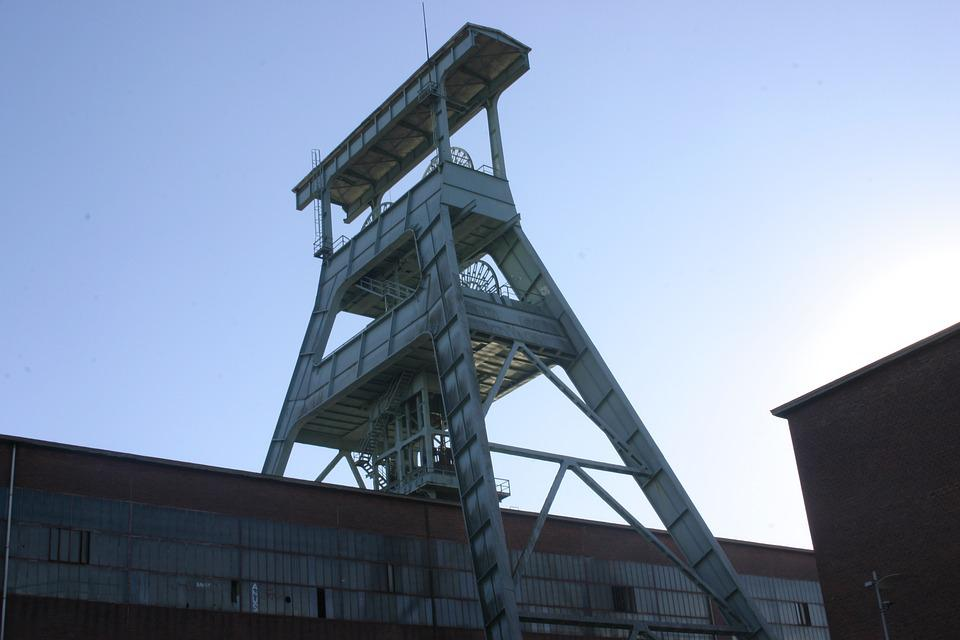 Bill, Ruhr Area, Mining, Carbon, Industrial Plant