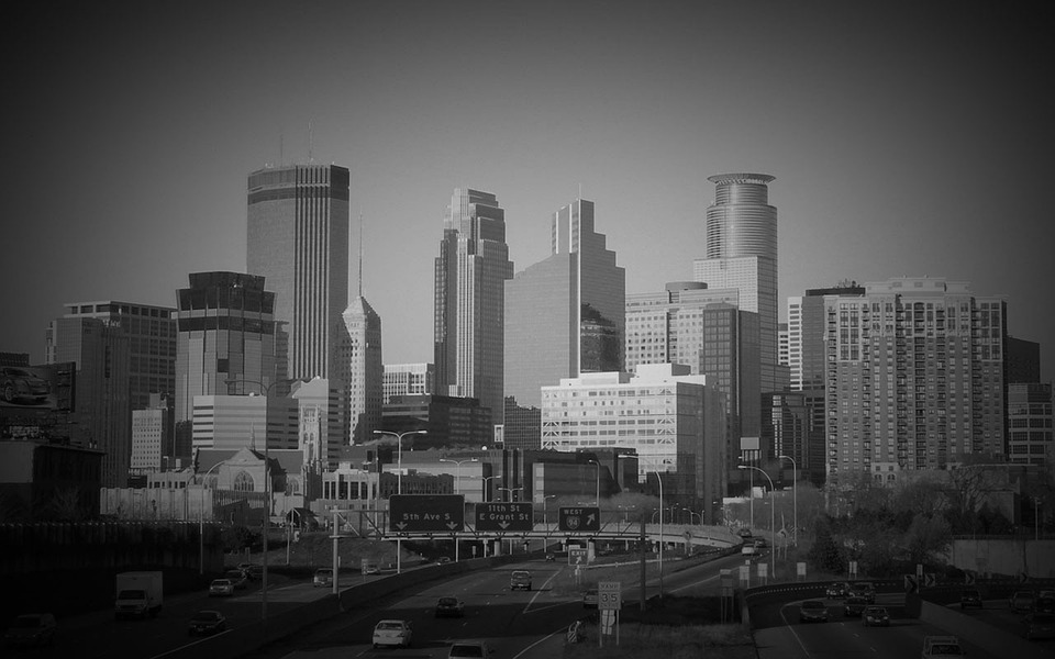 Minneapolis, Minnesota, Skyline, Skyscrapers, Buildings