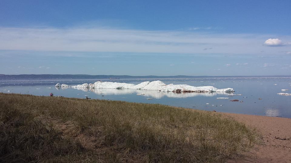 Ice, Minnesota, Superior, Summer, Nature, Frozen, Lake