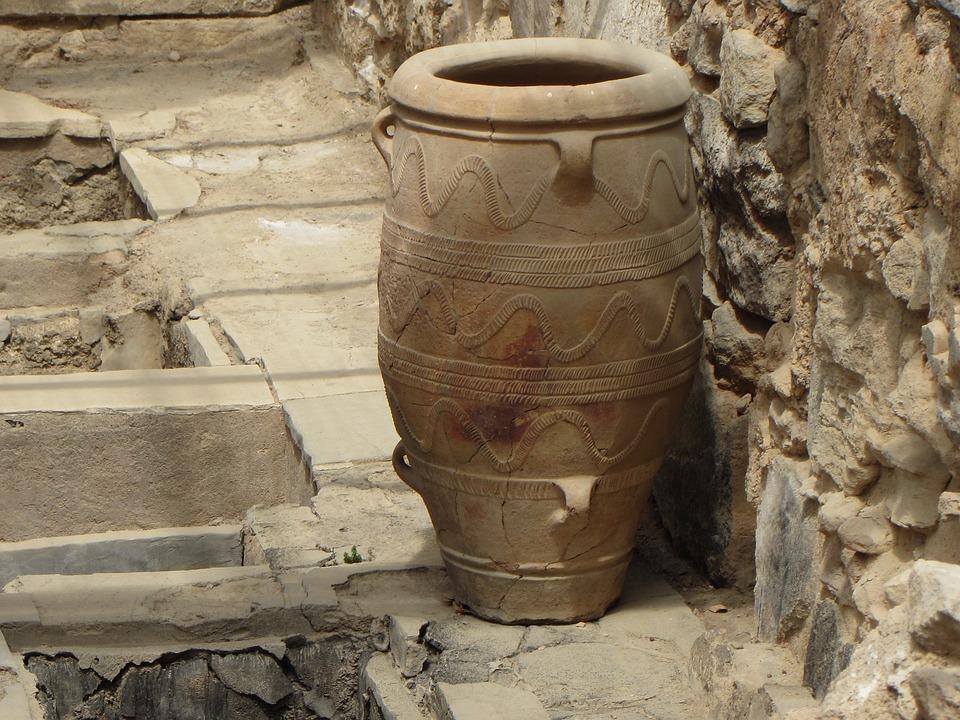 Jarre, Palace Of Knossos, Minoans, Island Of Crete