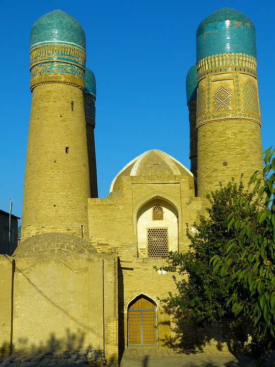 Mosque, Minor Choir, Four Minarets, Minaret, Pray
