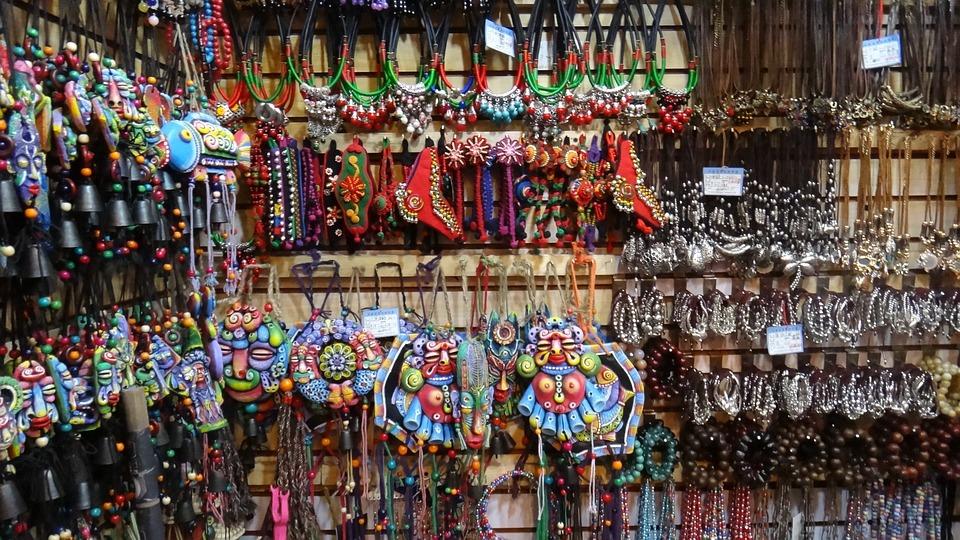 Handicrafts, Jewelry, Minority, China, Asia