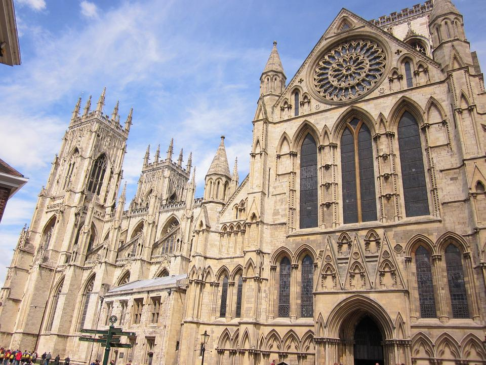 York, Minster, Architecture, Landmark, Yorkshire