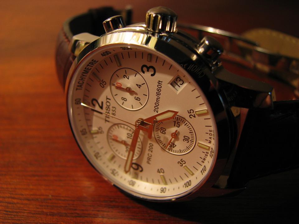 Watch, Wrist Watch, Minutes, Men's Watch, Pointers