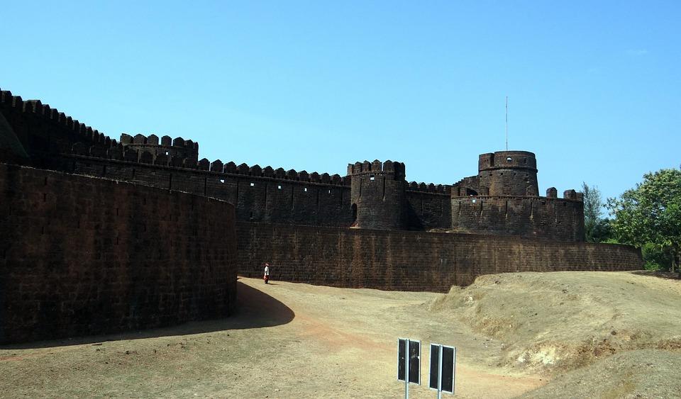 Mirjan, Mirjan Fort, Ramparts, Uttar Kannada, India