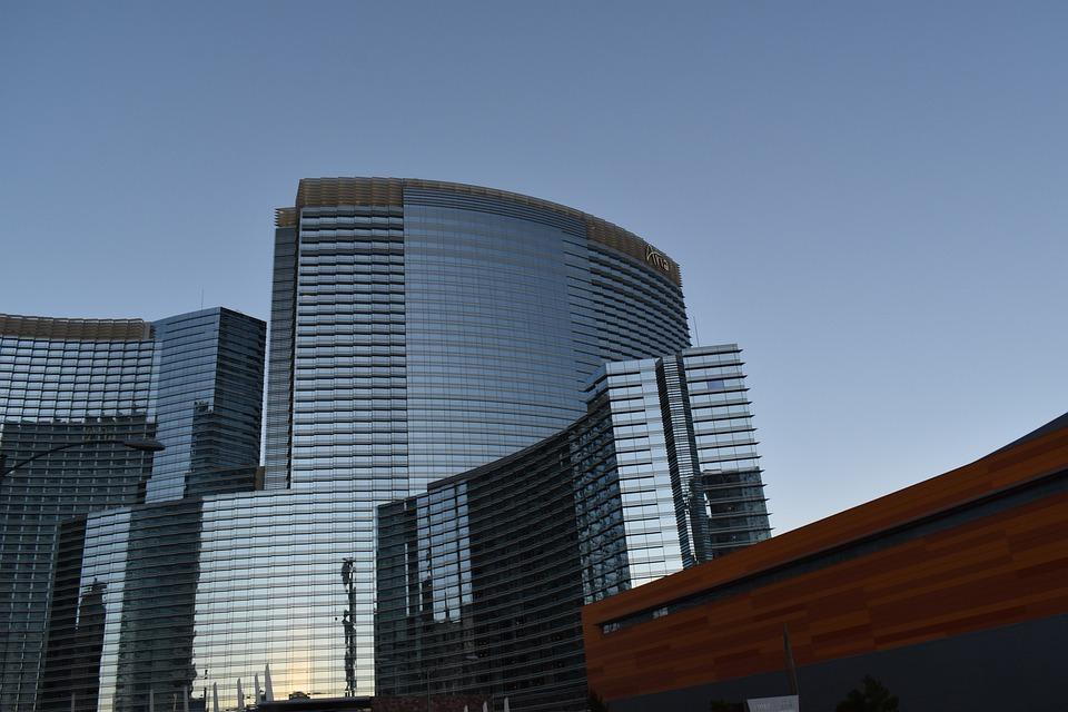 Skyscraper, Vegas, Architecture, Glass, Mirror, City
