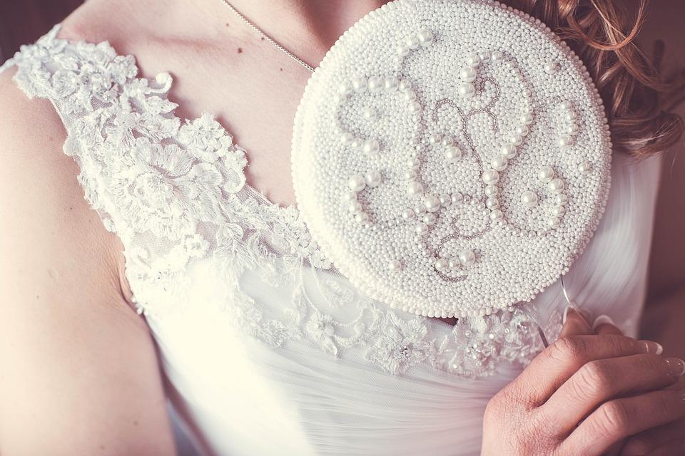 Mirror, Beads, Wedding, Jewellery, Deco, Bride, Shiny