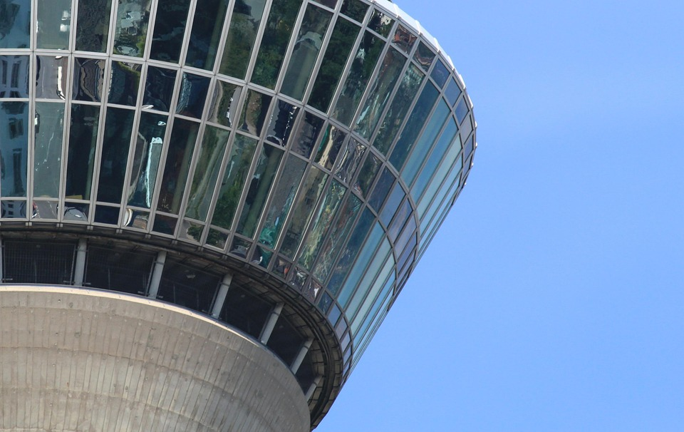 Tower, Sky, Building, Architecture, Blue, Mirror