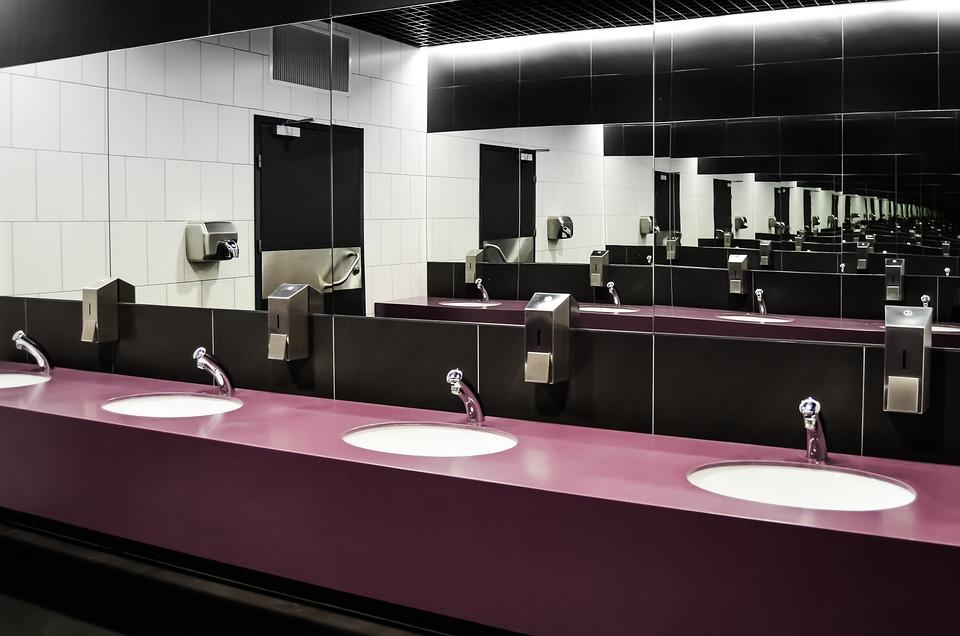 Wc  Toilet  Purely  Public Toilet  Bathroom  Mirror. Free photo Mirror Purely Wc Public Toilet Toilet Bathroom   Max Pixel