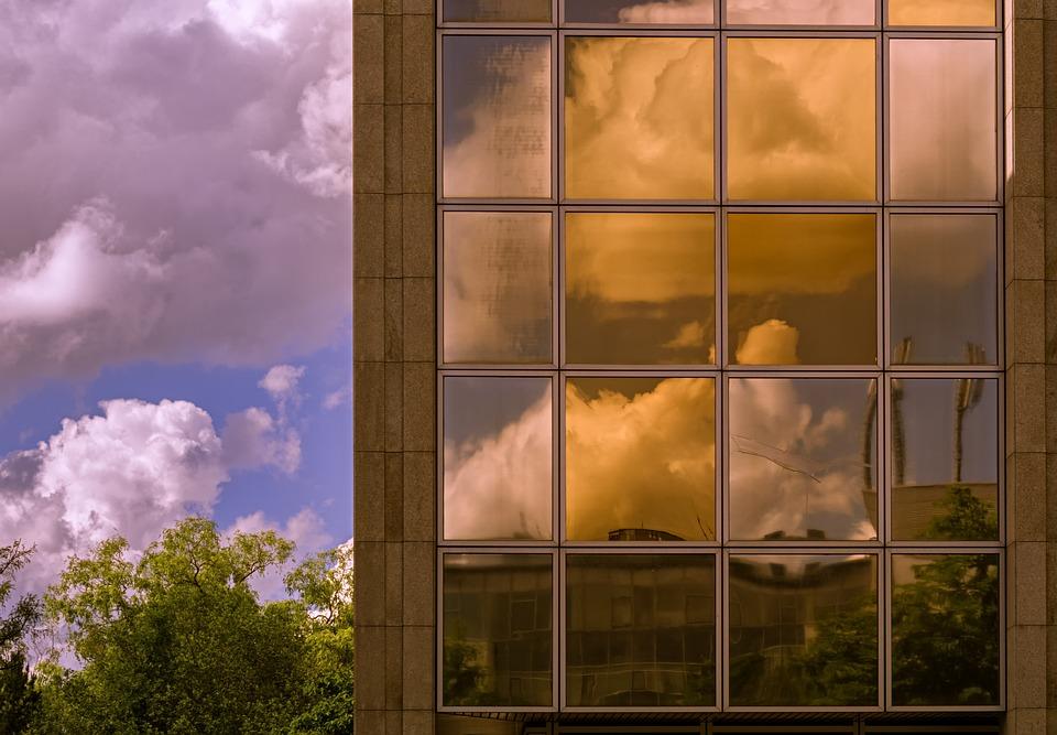 Building, Window, Glass, Architecture, Mirroring