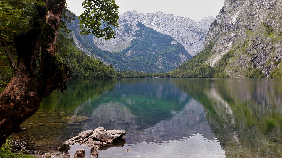 Lake, Bergsee, Mirroring, Nature, Landscape, Austria
