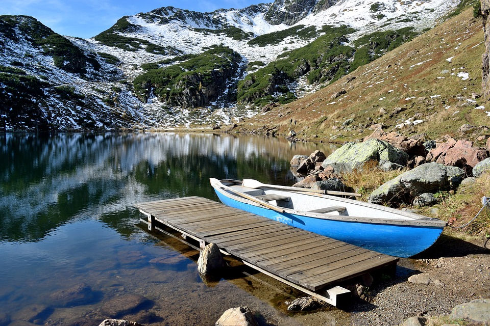 Lake, Water, Bergsee, Nature, Landscape, Mirroring