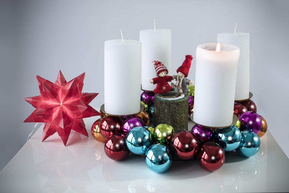 Christmas, Advent, Balls, Colorful, Round, Mirroring