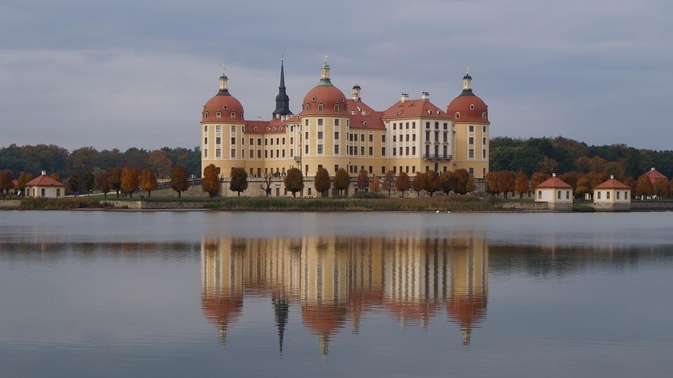 Moritz Castle, Saxony, Mirroring, Fairy Tales