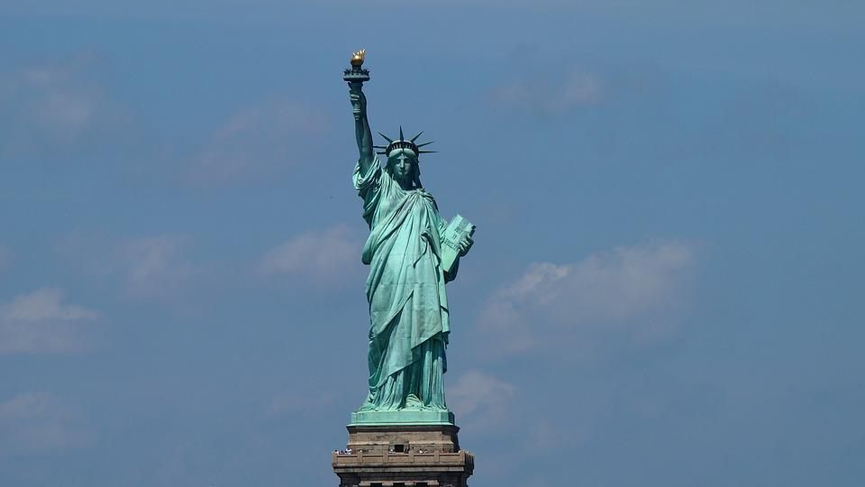 New York, Skyline, New York City, Miss Liberty