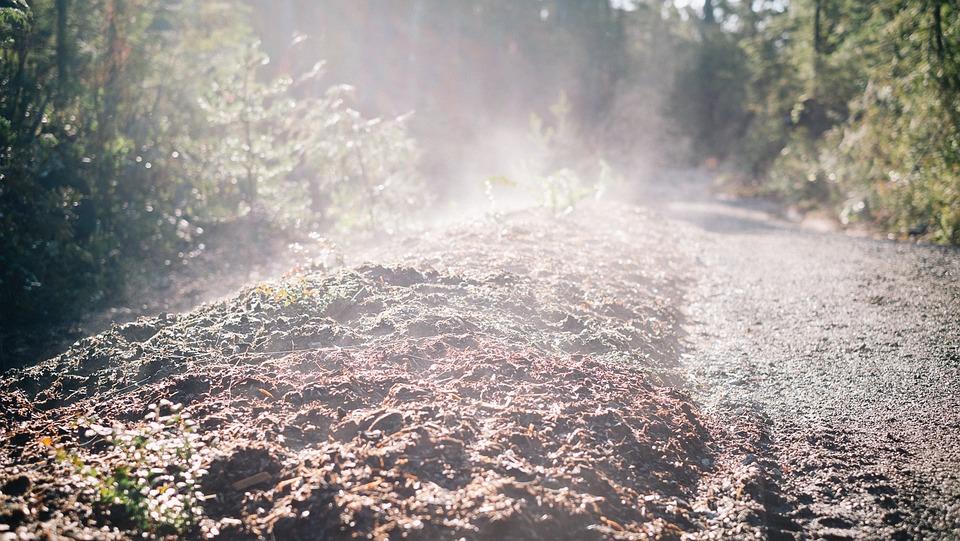 Soil, Steam, Heat, Countryside, Nature, Morning, Mist