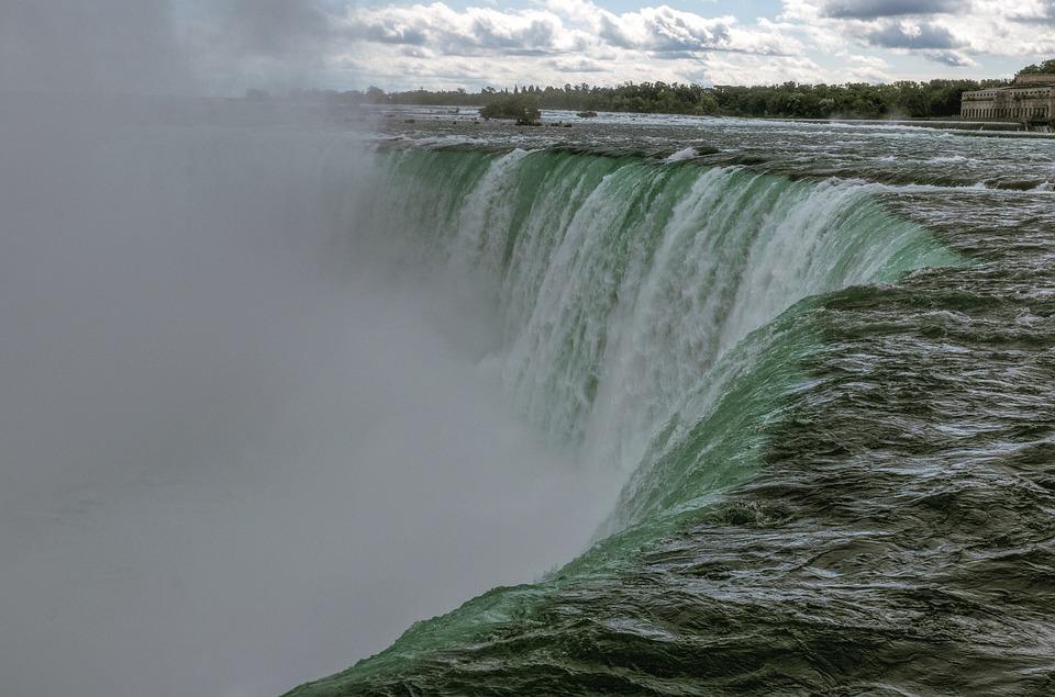Niagara Falls, Water Power, Mist Nature