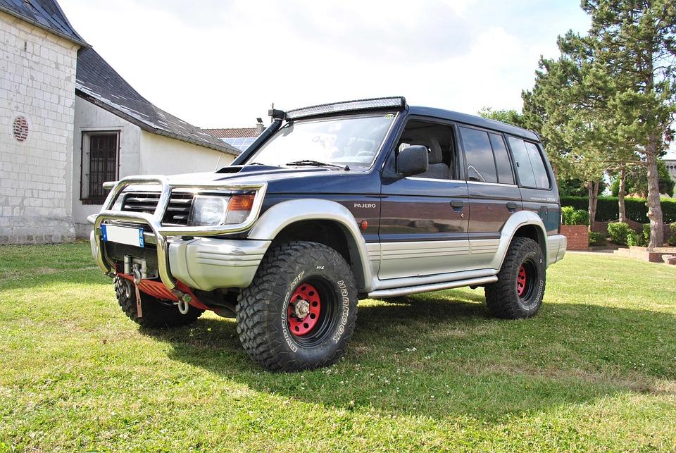 Pajero, Mitsubishi, 4x4