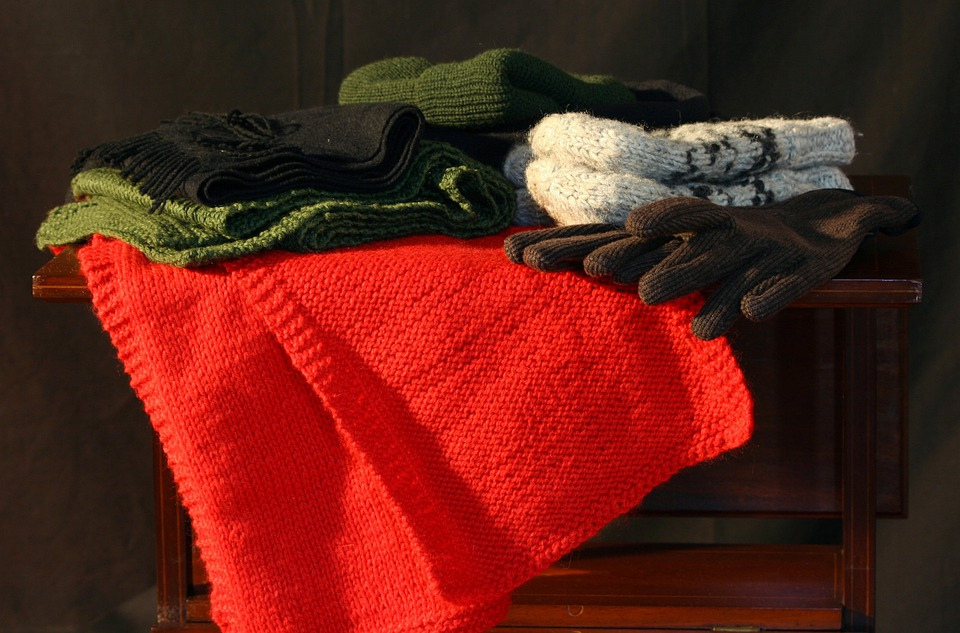 Winter Clothes, Hats, Gloves, Mittens, Scarves