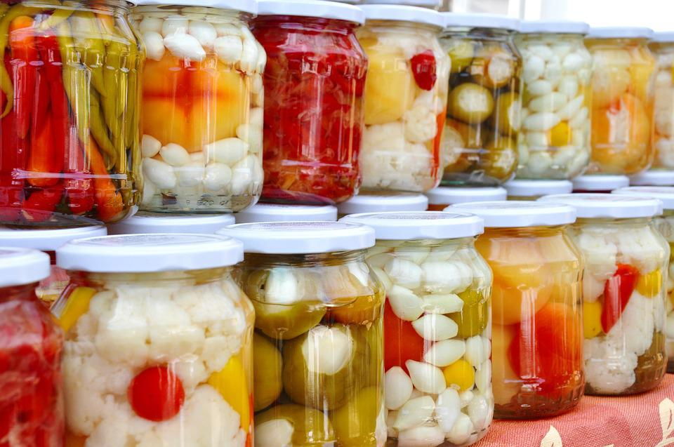 Pickles, Mixed, Food