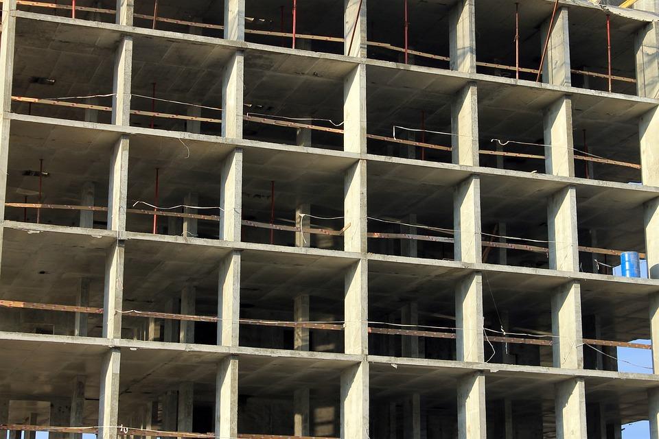 Construction, House, Stove, Concrete, Mnogofazny