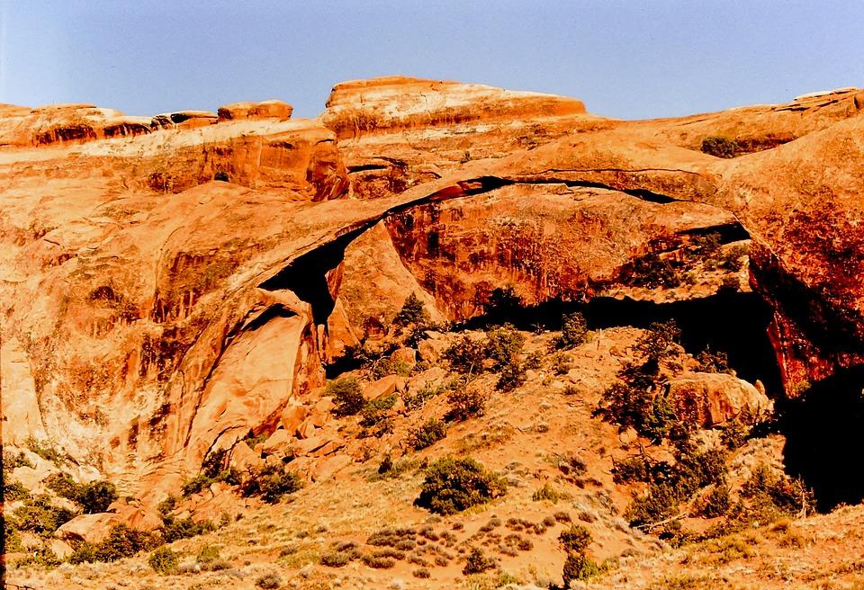 Moab, Arch, Rock, Scenic, Landscape