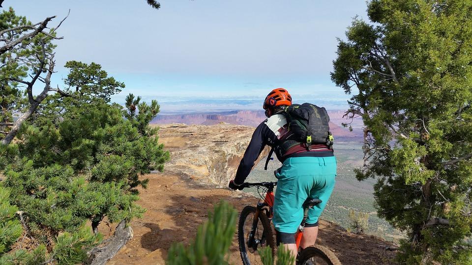 Mountain Biking, Adventure, Moab, Utah, Red Rocks, Bike