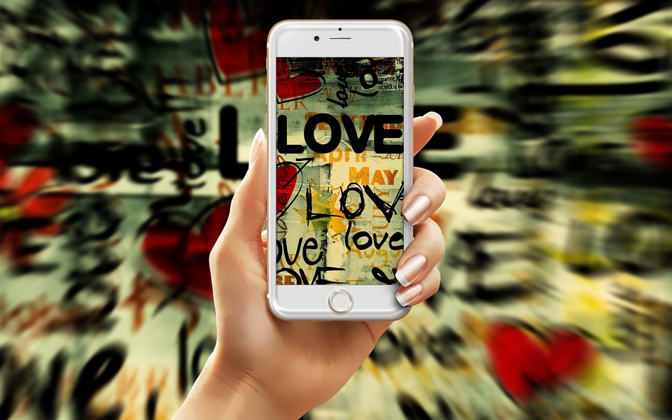 Love, Android, Smartphone, Phone, Screen, Mobile