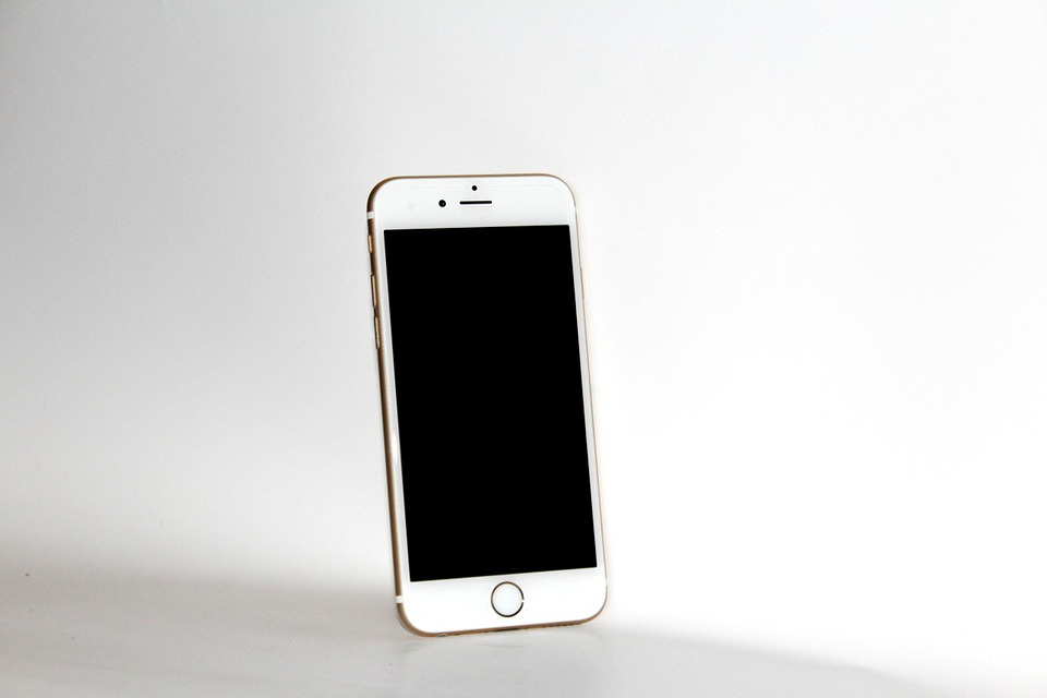 Iphone 6s, White, Mobile Phone, Smartphone