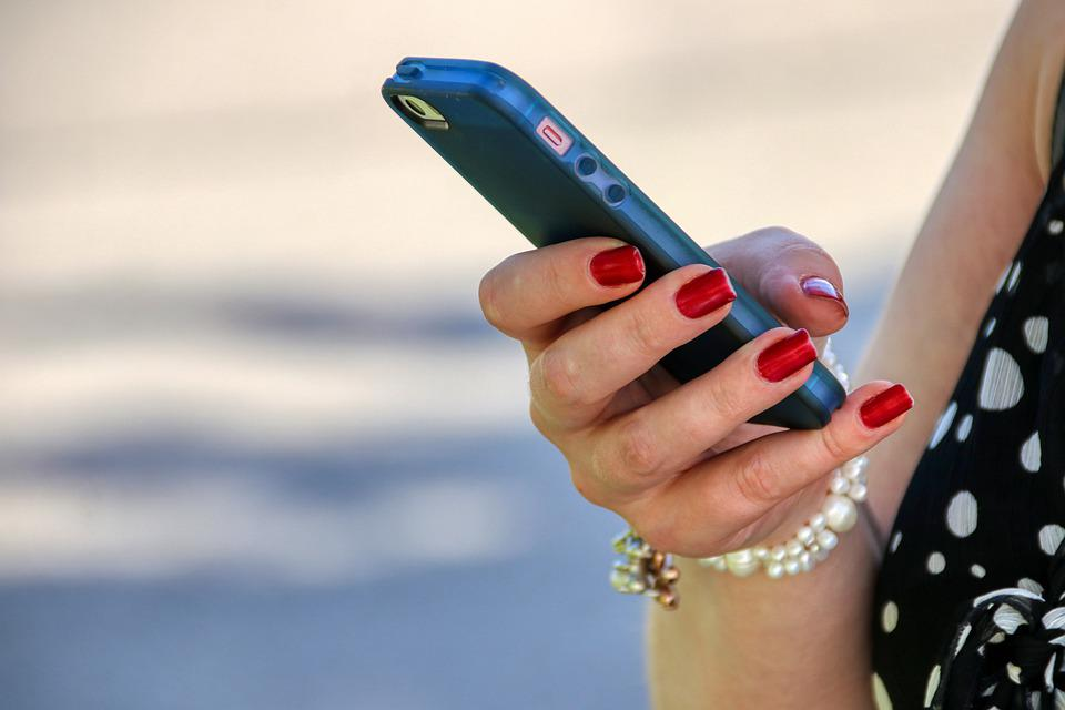 Mobile Phone, Woman, Smartphone, Technology