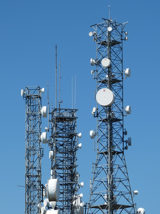 Antenna, Tower, Mobile Phone, Telecommunications, Send