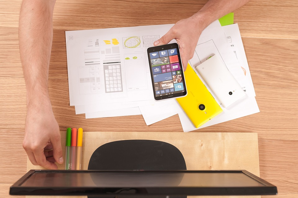 Phone, Tablet, Screen, Mobile, Smart, Modern