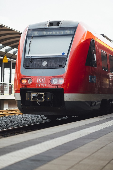 Train, Railway Station, Railway, Mobility, Travel